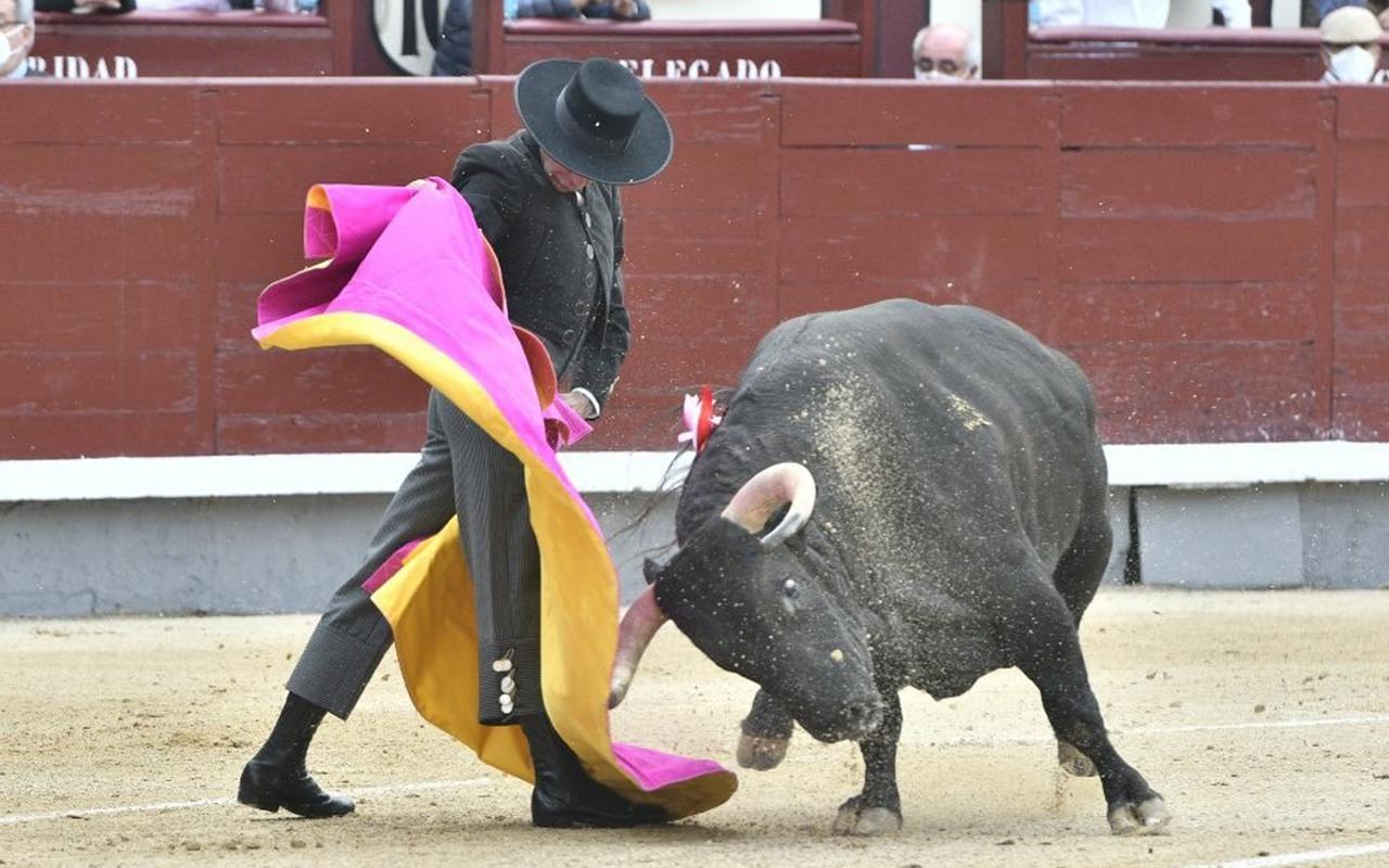 İspanya'da salgının başından bu yana ilk boğa güreşi yapıldı
