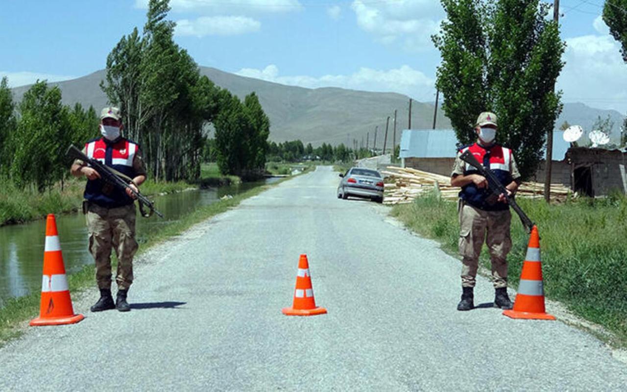 Gümüşhane'de 2 köy ve 1 mahalle karantinaya alındı