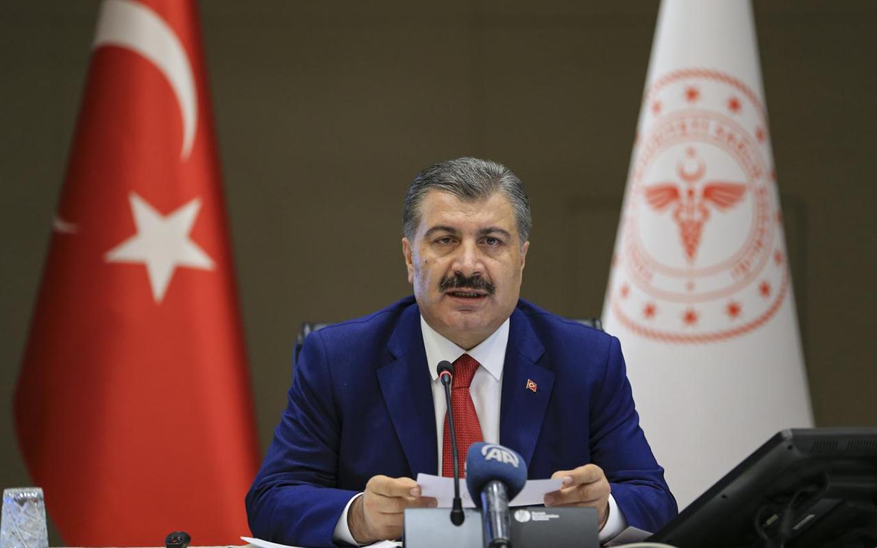 Sağlık Bakanı Fahrettin Koca il il vaka sayılarını açıkladı