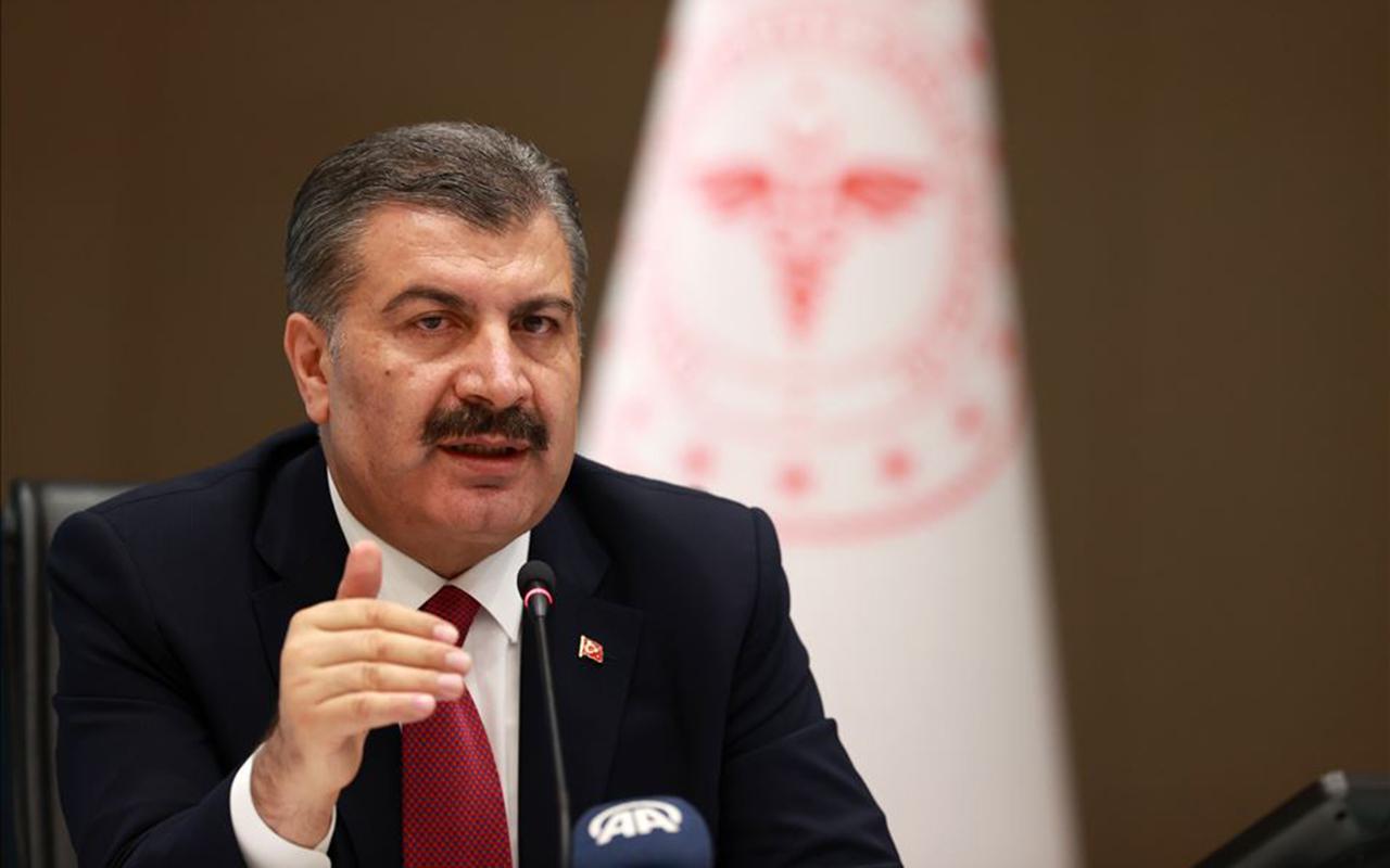 Sağlık Bakanı Koca, vaka sayısı en çok azalan illeri duyurdu