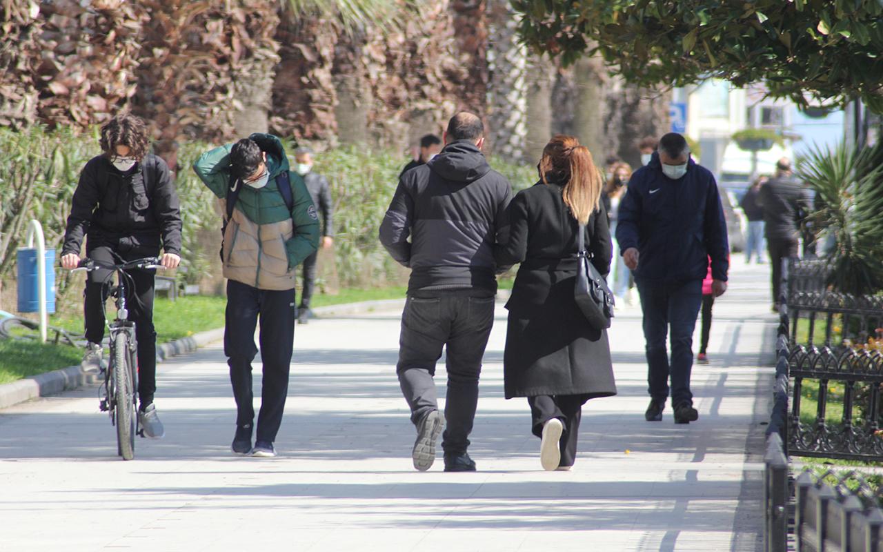 Sinop'ta yoğun bakım doluluk oranı yüzde 20 düştü