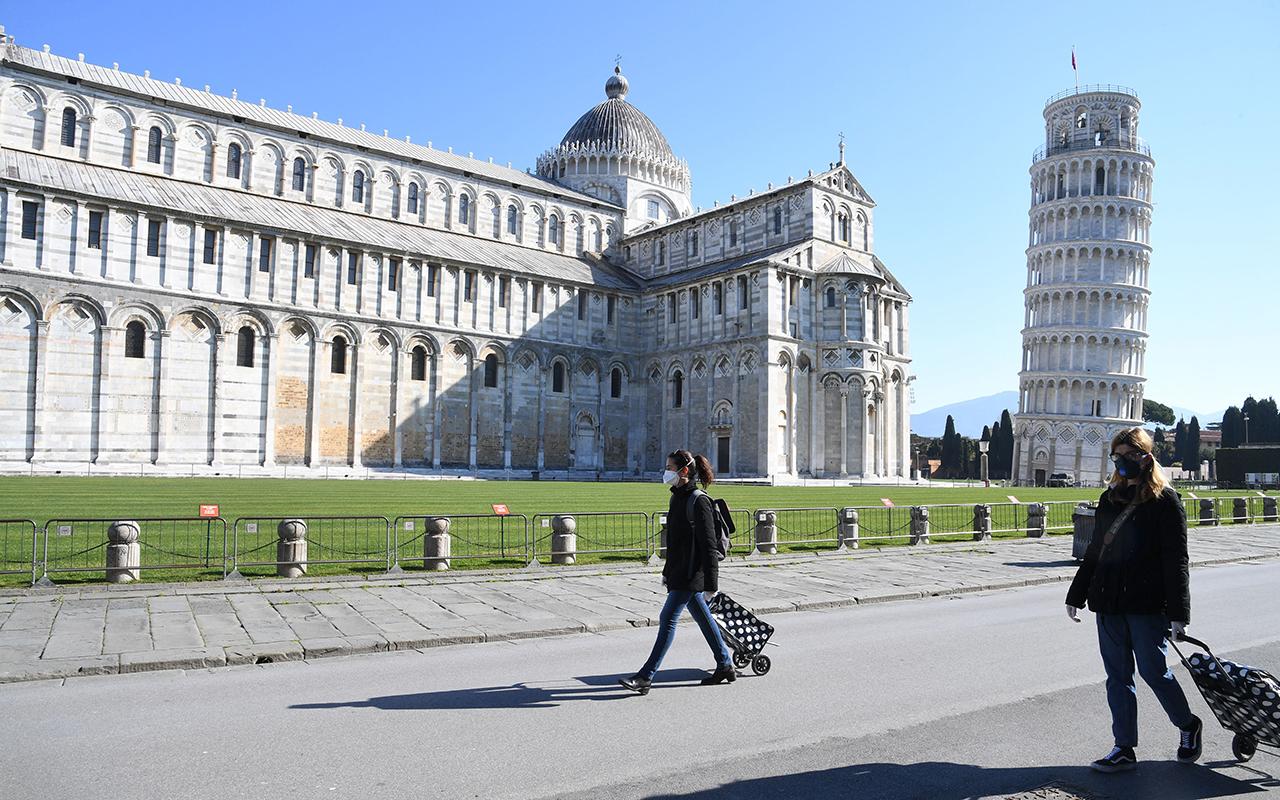 İtalya'da son 24 saatte 5 bin 748 yeni vaka