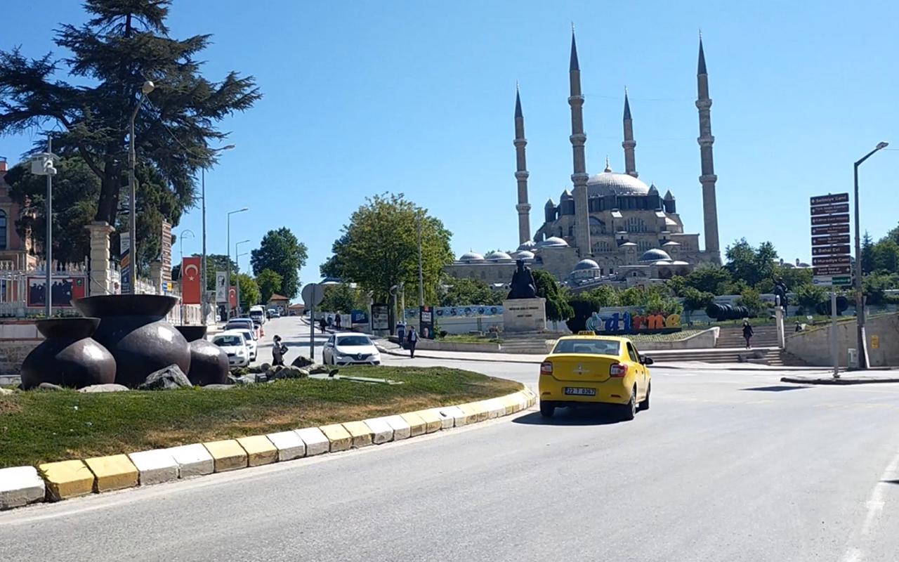 Trakya'da en düşük vaka oranına sahip il Edirne oldu