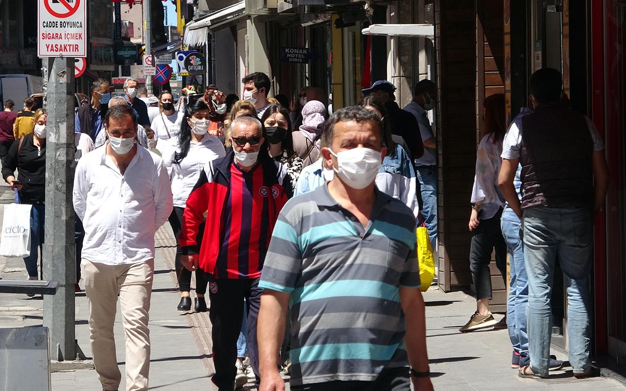 En çok düşüş yaşanan iller arasına giren Zonguldak'ta yoğunluk sürüyor