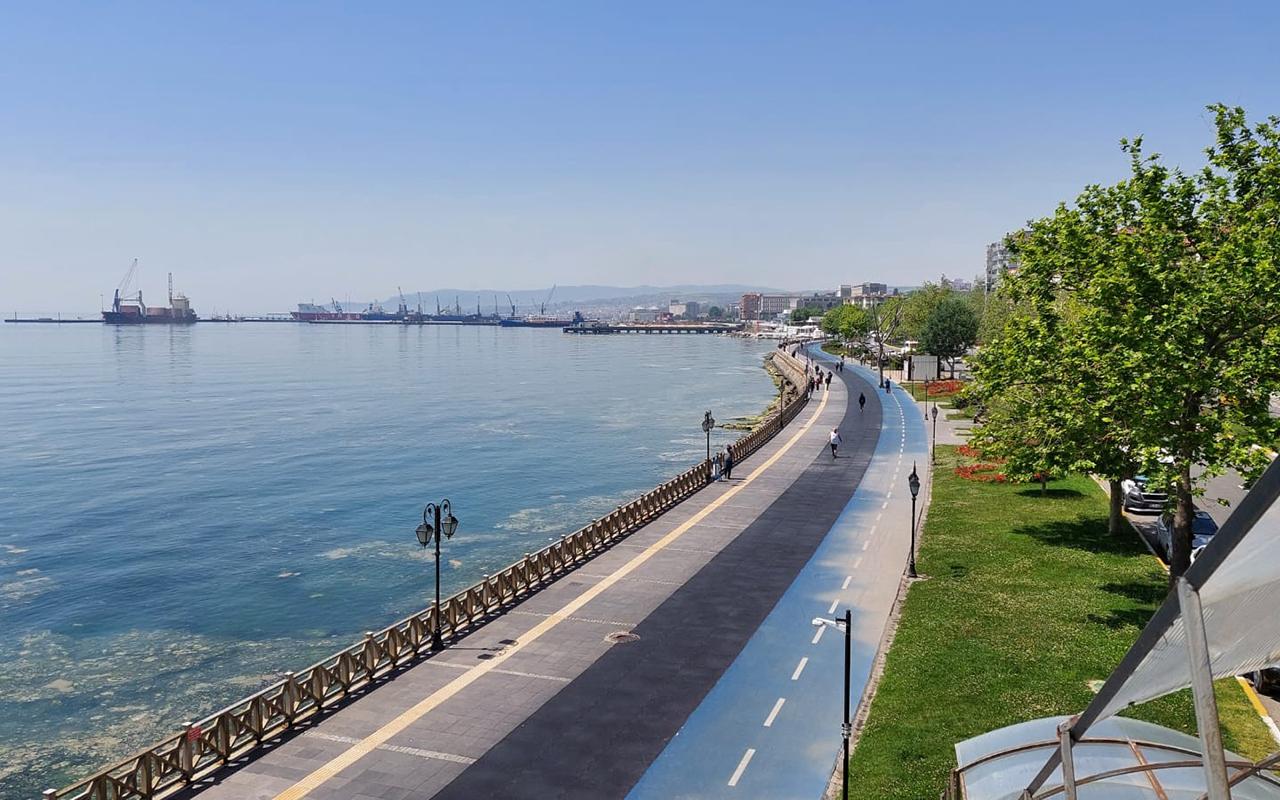 İstanbul ile yarışan Tekirdağ'da korona virüs haritası kırmızıdan yeşile döndü
