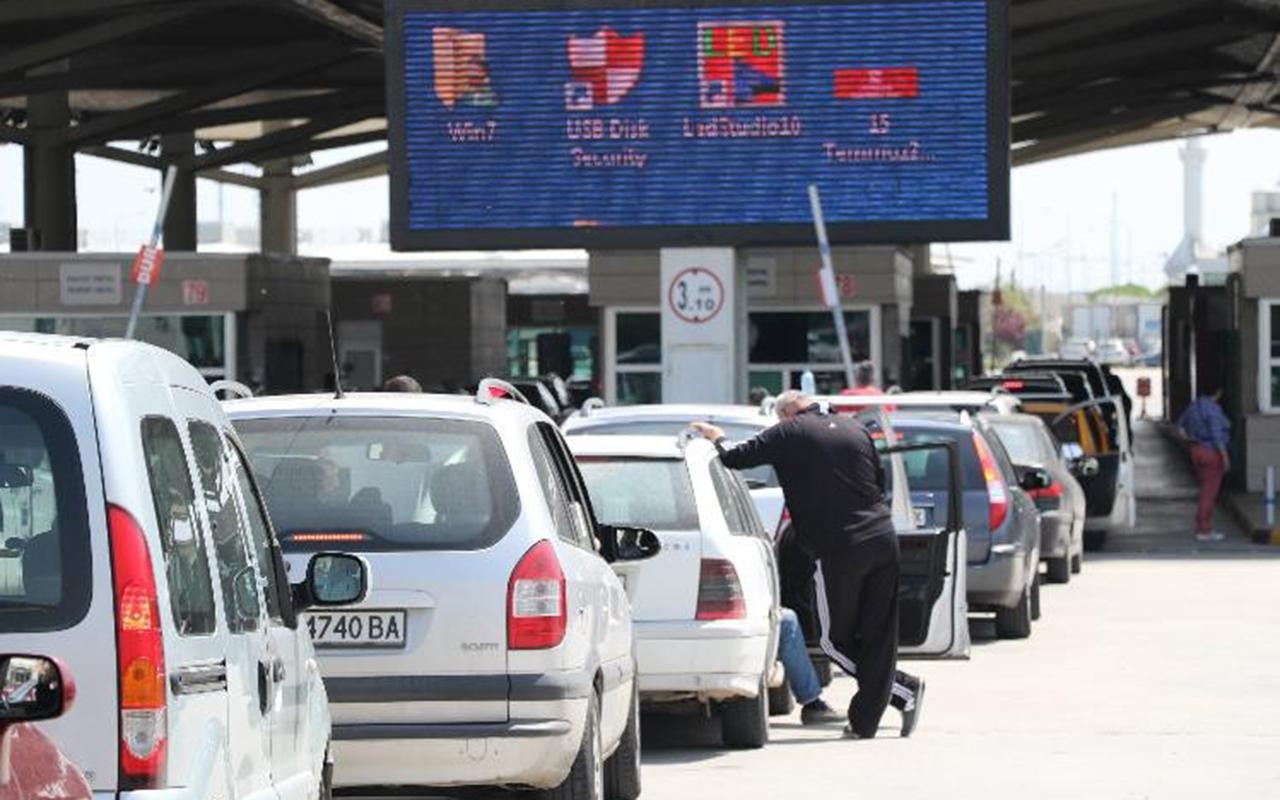 Kapıkule Sınır Kapısı'nda turistlere PCR testi 110 liraya yapılacak