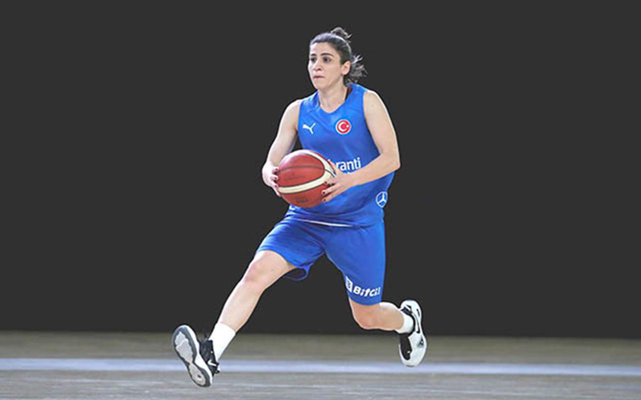 A Milli Kadın Basketbol Takımı'nda sakatlanan Gizem Yavuz kadrodan çıkarıldı