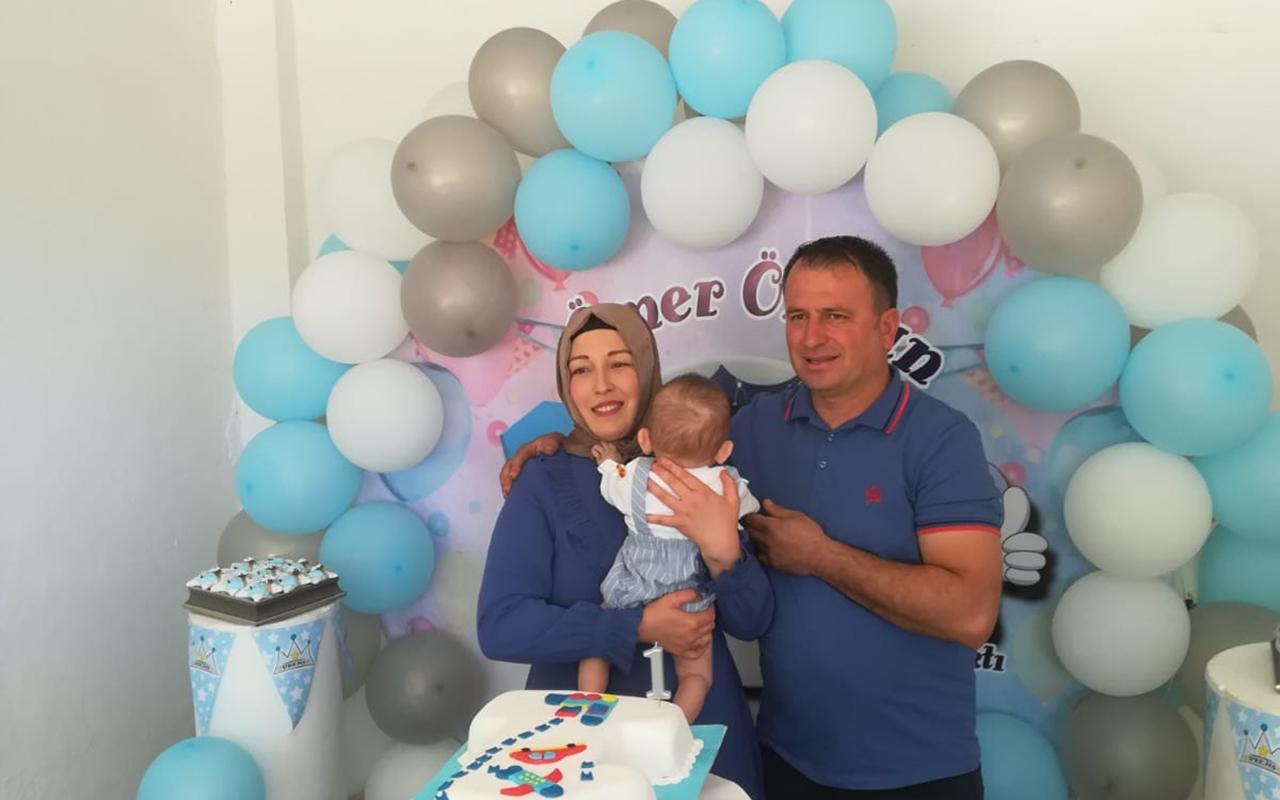 Dünyanın kadavradan rahim nakliyle doğan ilk bebeği olan Ömer Özkan 1 yaşına girdi