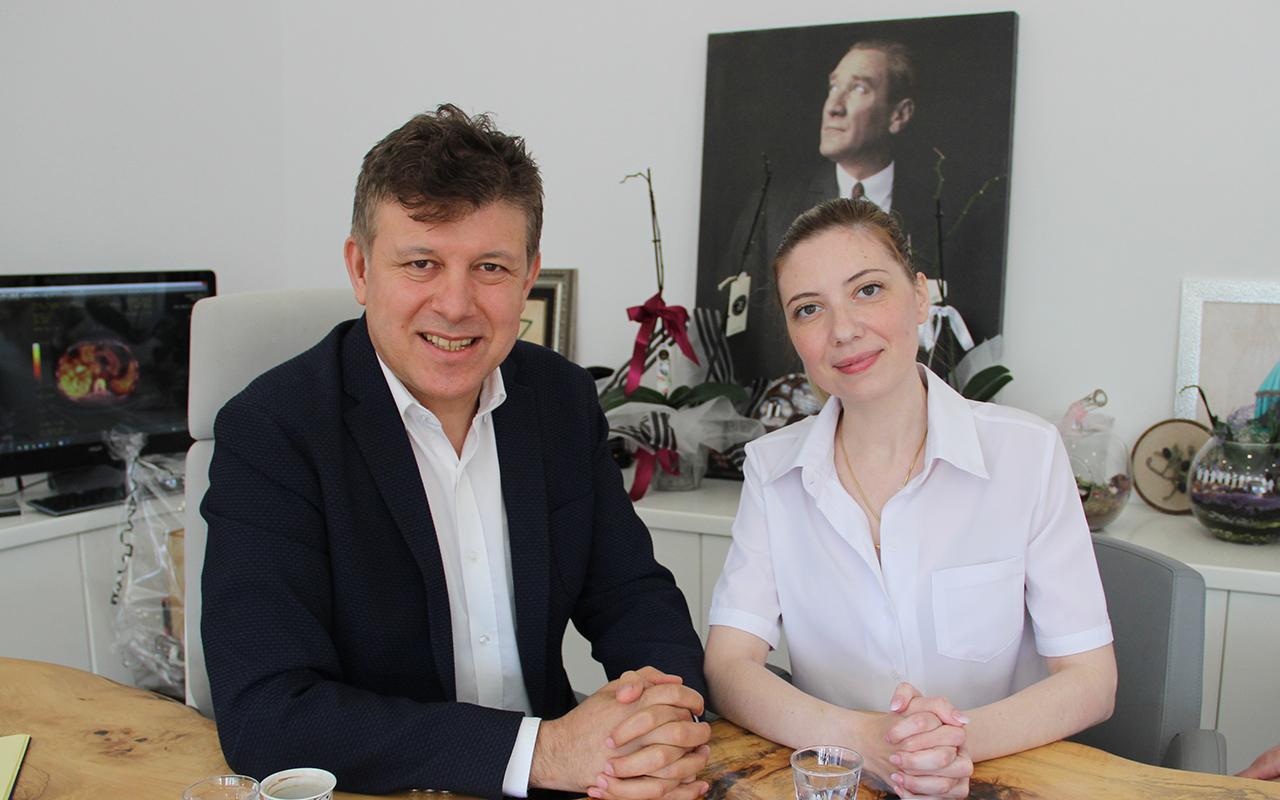 Ukraynalı genç kadın, tedavi için Türkiye'yi seçti
