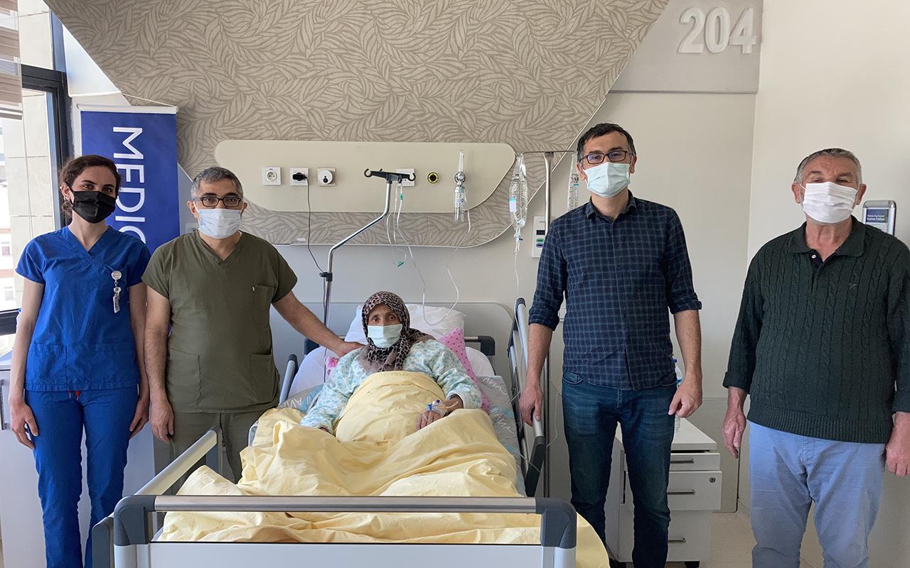 Dünyada ikinci kez yapıldı, hasta sağlığına kavuştu