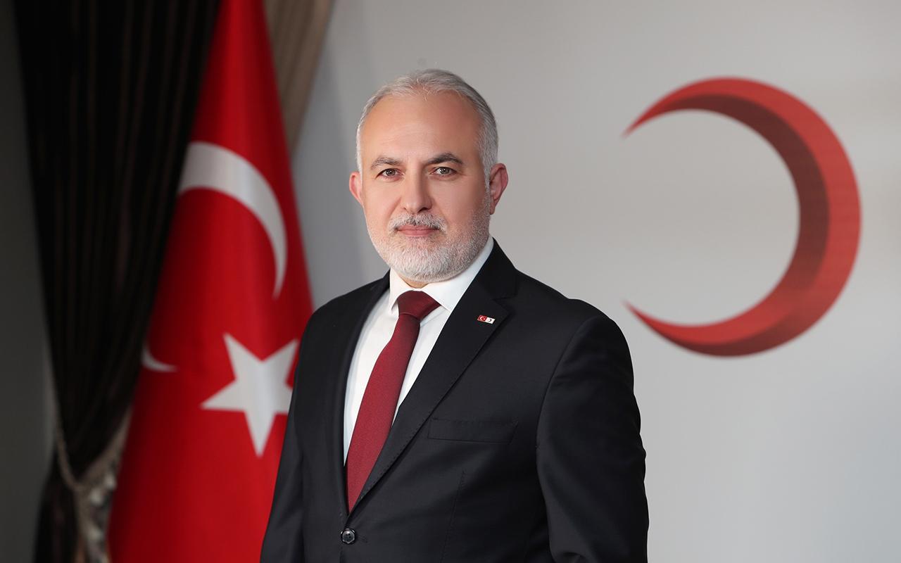 Türk Kızılay'ı kuruluşunun 153'üncü yılını kutluyor