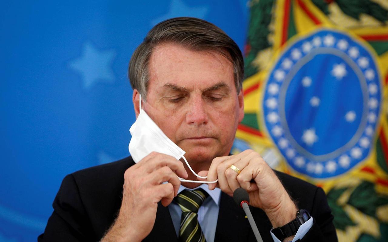 Brezilya Devlet Başkanı Bolsonaro maske kullanmadığı için ceza aldı