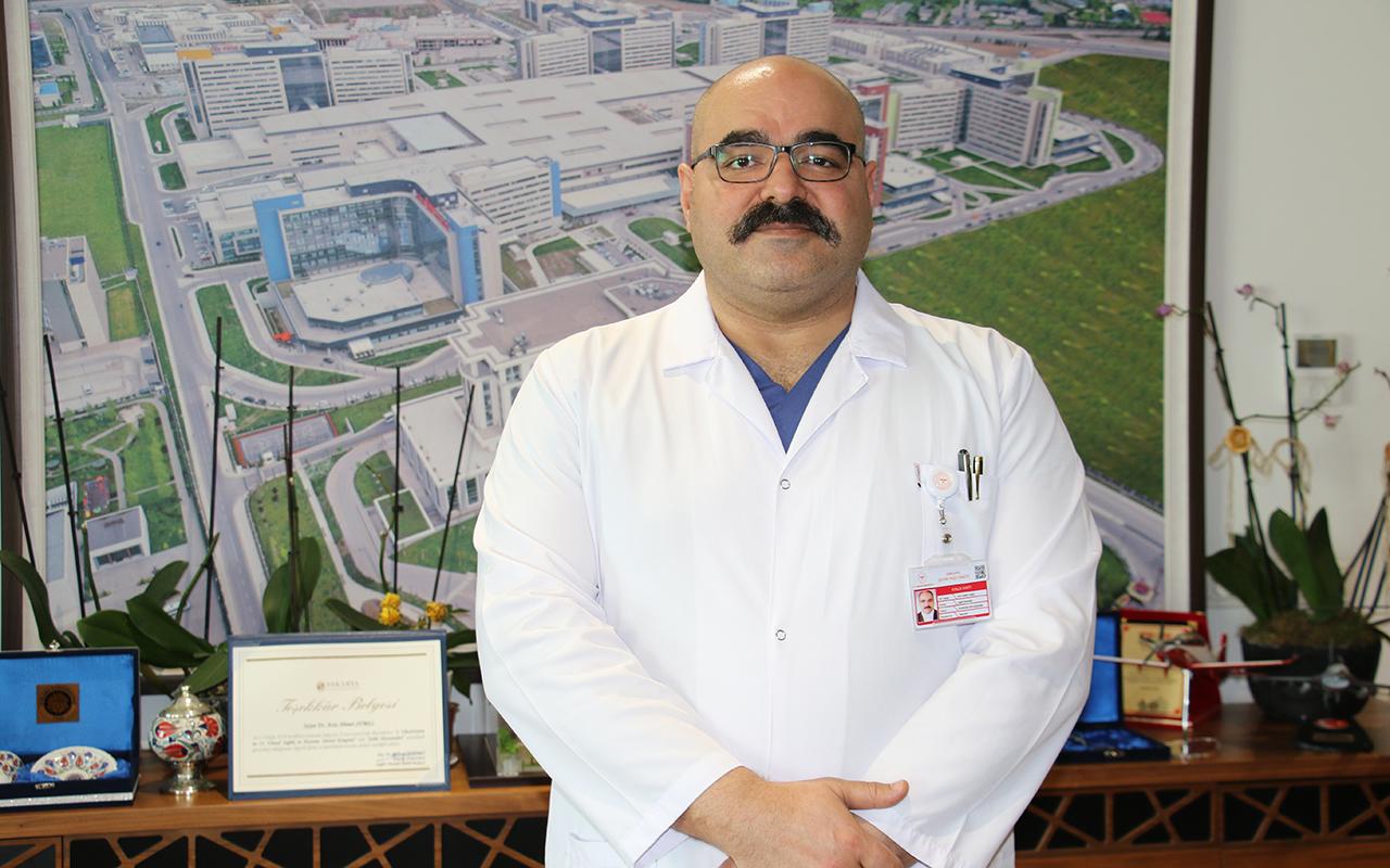 Ankara Şehir Hastanesi Koordinatör Başhekimi Op. Dr. Surel: