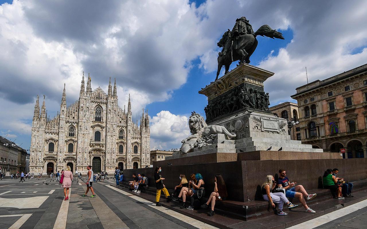 İtalya'da son 24 saatte bin 400 yeni vaka tespit edildi