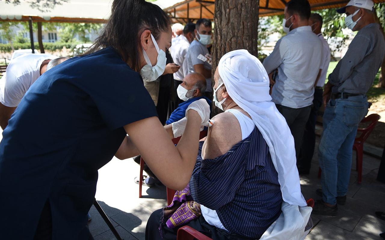 Şanlıurfa'da mobil aşı çalışması başladı