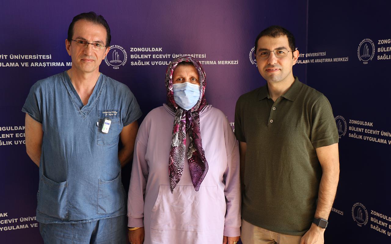 Milyonda bir görülen nadir tümör 11 saat süren ameliyatla alındı