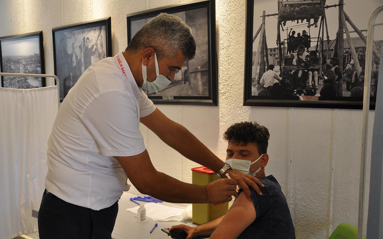 Karaman'da aşı çalışması hız kazandı