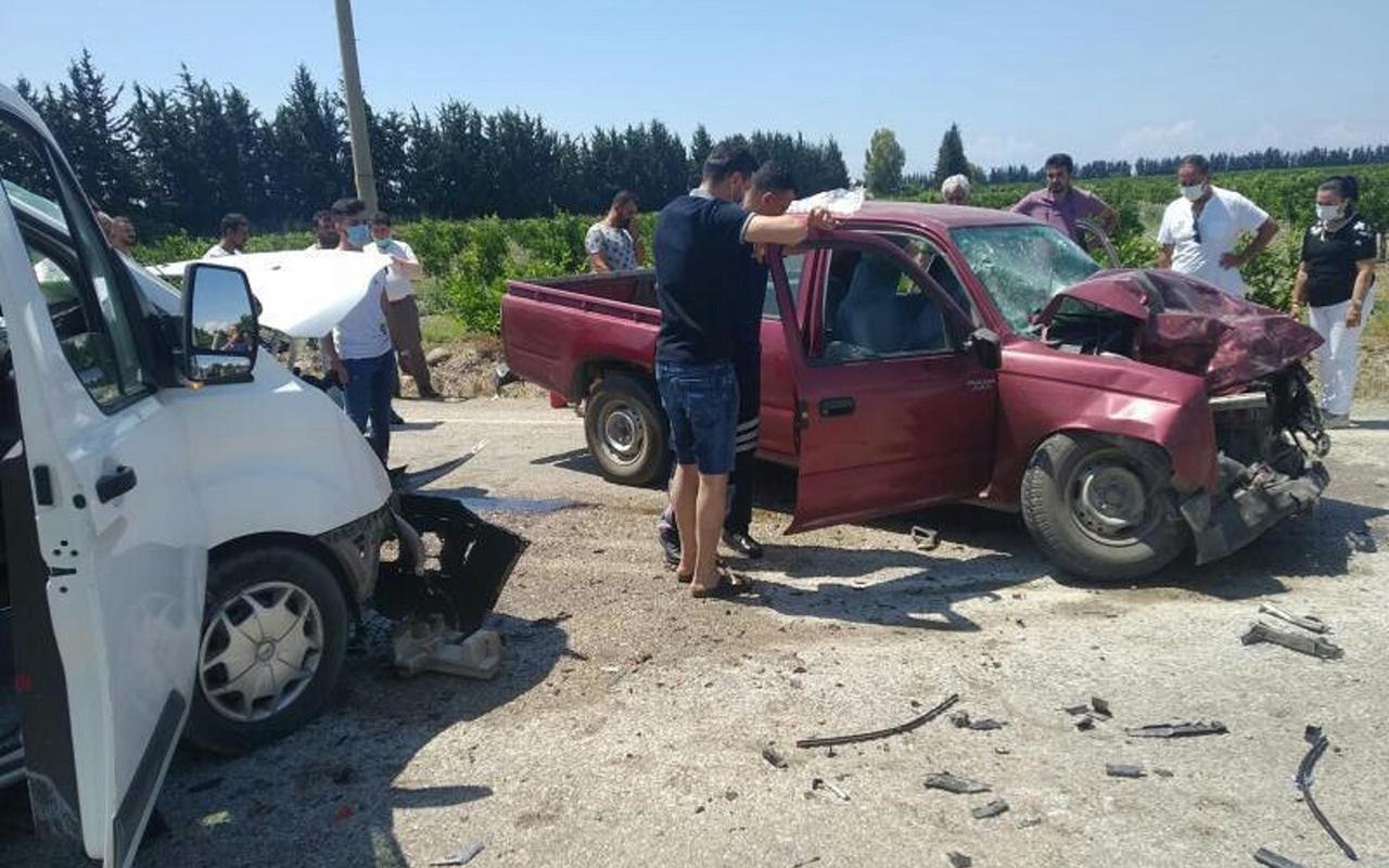 Hatay'da trafik kazası: 1 ölü, 4 yaralı