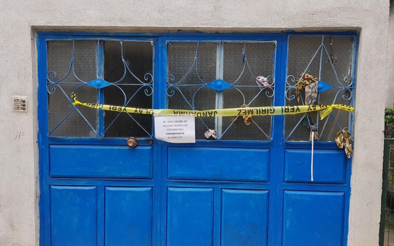 Karabük'te pozitif vakaların görüldüğü evler karantinaya alındı