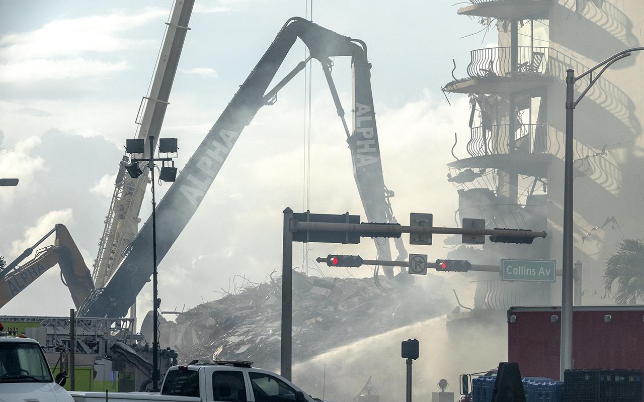 Florida'da çöken binada ölü sayısı 5'e yükseldi