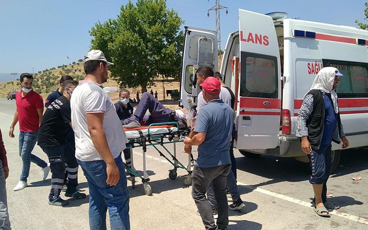 İzmir'de feci kaza: 1 kişi yaşamını yitirdi, 17 tarım işçisi ölümden döndü