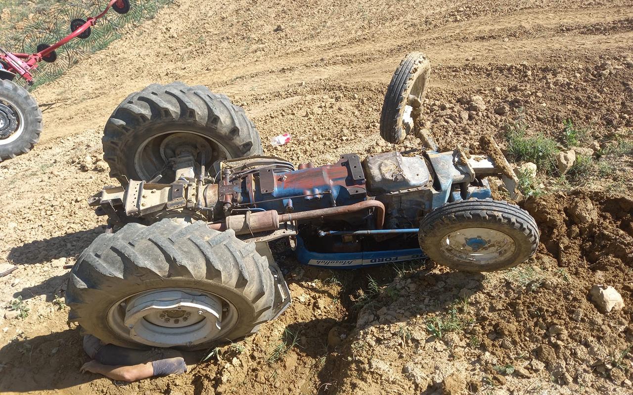 Kütahya'da traktör kazası: 1 ölü