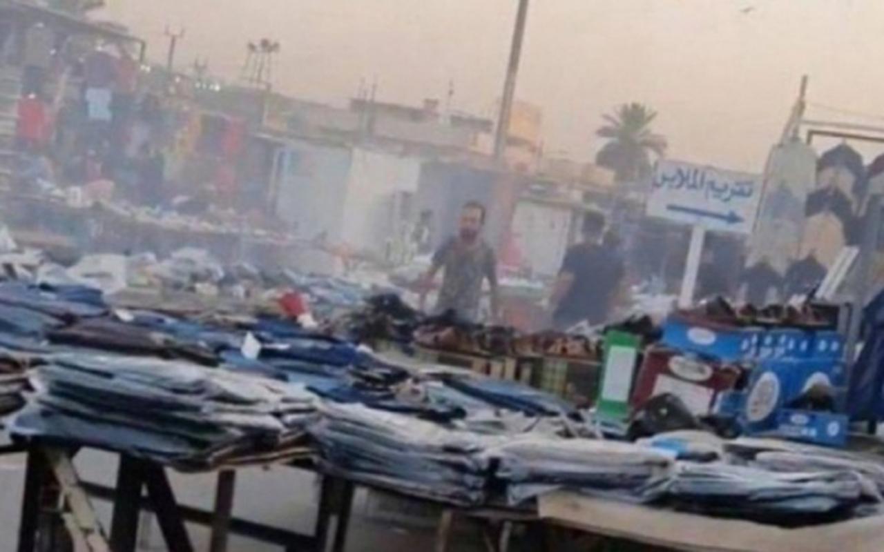 Bağdat'ta patlama: 15 yaralı