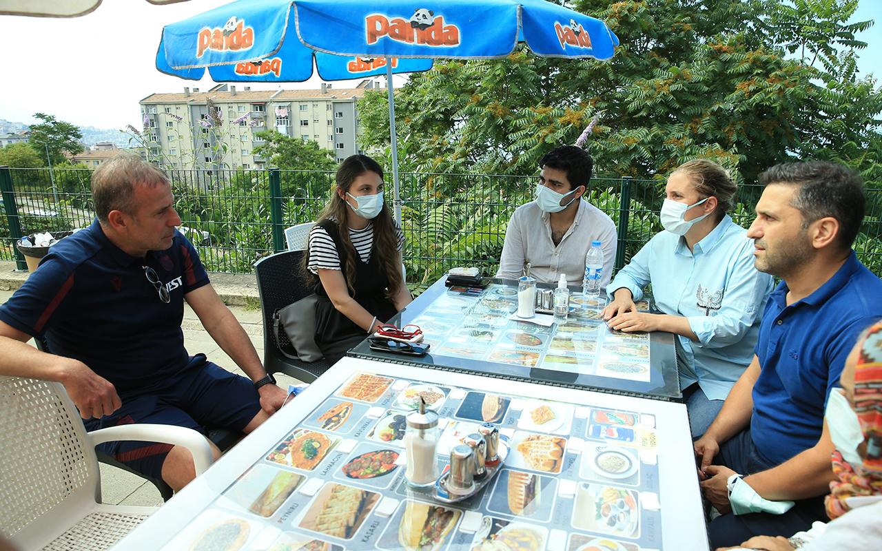 Abdullah Avcı, yoğun bakımda olan Mustafa Reşit Akçay'ın ailesini ziyaret etti