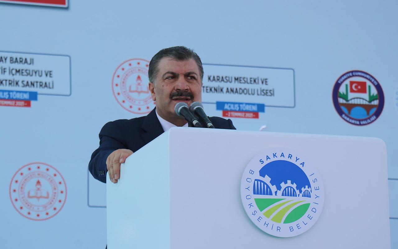 Sağlık Bakanı Fahrettin Koca Kurban Bayramı için aşıya dikkat çekti