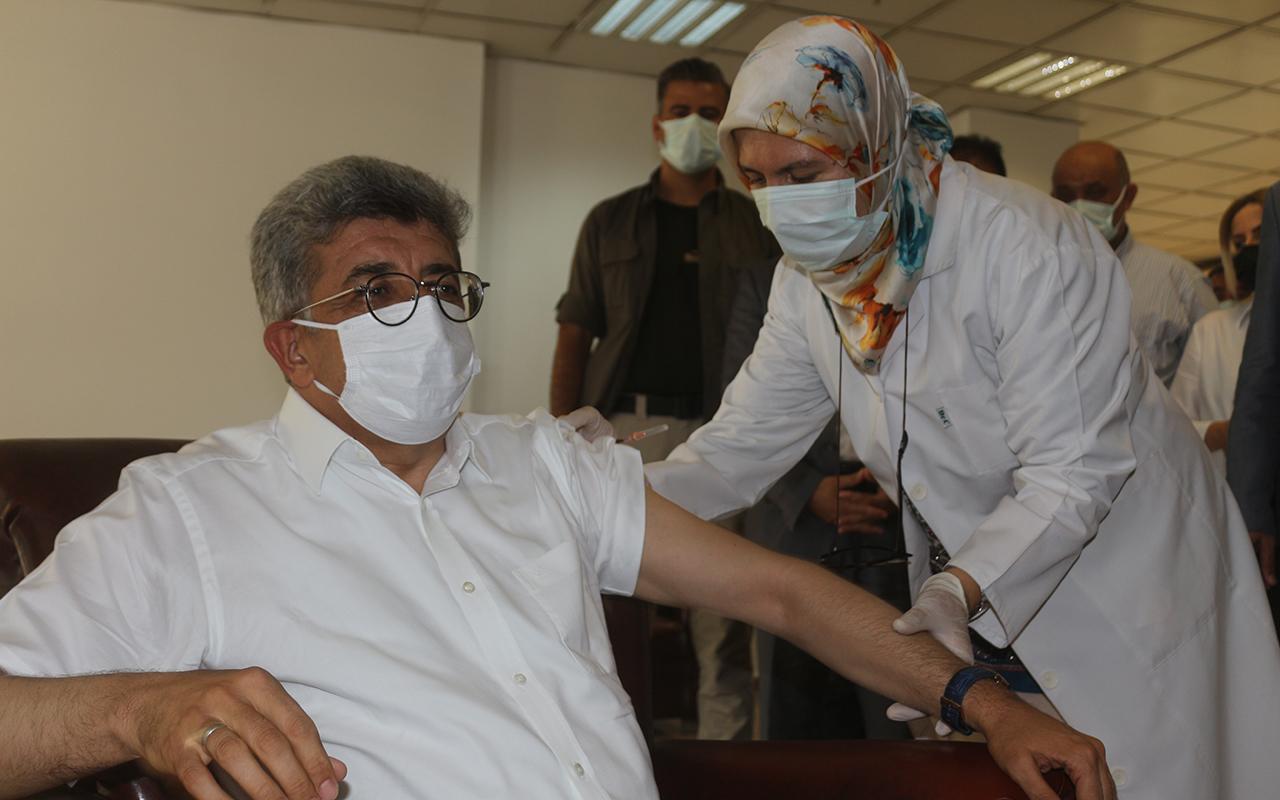 Van Valisi Bilmez'den aşı çağrısı