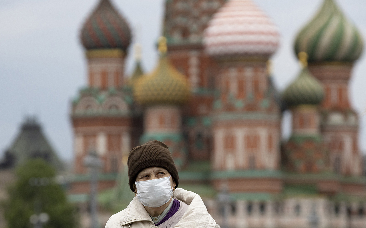 Rusya'da vaka sayısı azalmak bilmiyor
