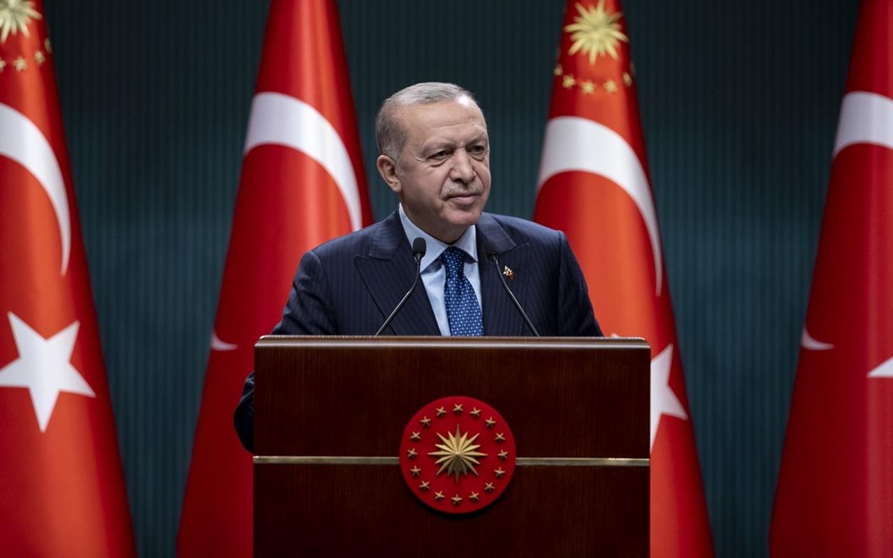 Cumhurbaşkanı Erdoğan kabine toplantısının ardından açıklamalarda bulundu