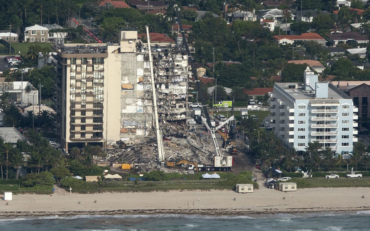 Florida'da çöken binada can kaybı 28'e yükseldi