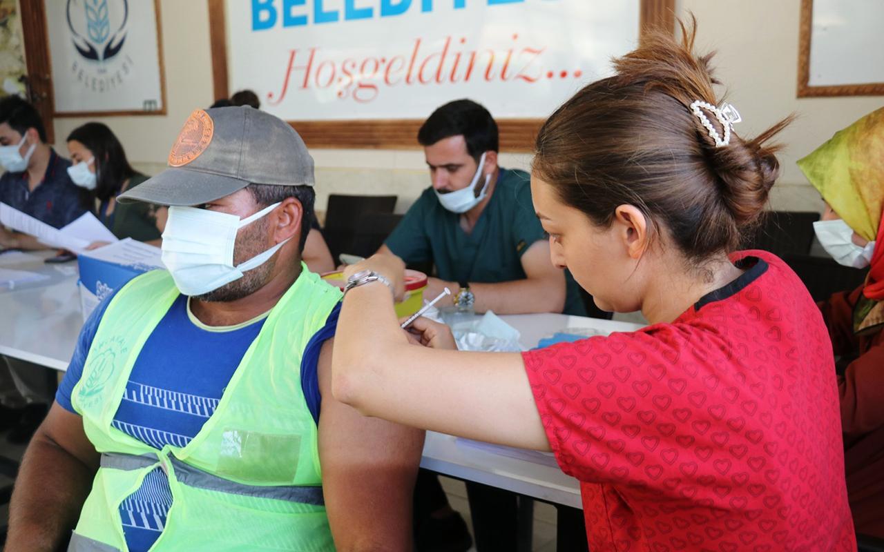 Sınırın sıfır noktasında aşı seferberliği