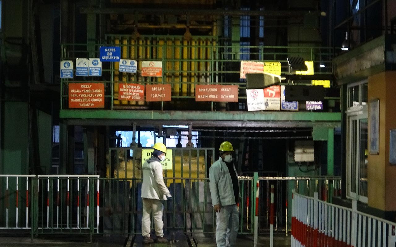 Aşılama çalışmalarının sürdüğü madenlerde pozitif vaka yok