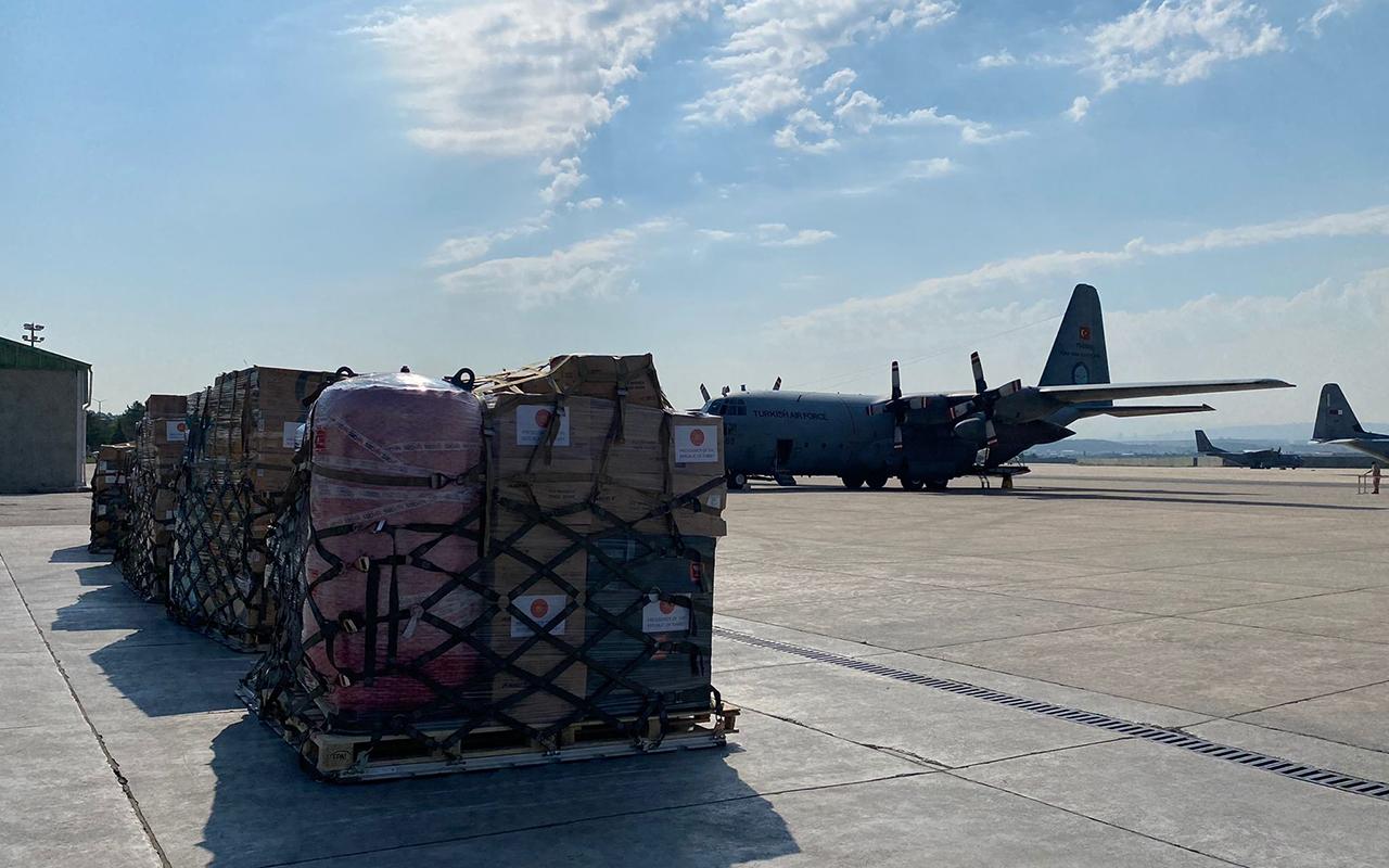 Türkiye'den Tunus'a tıbbi malzeme yardımı