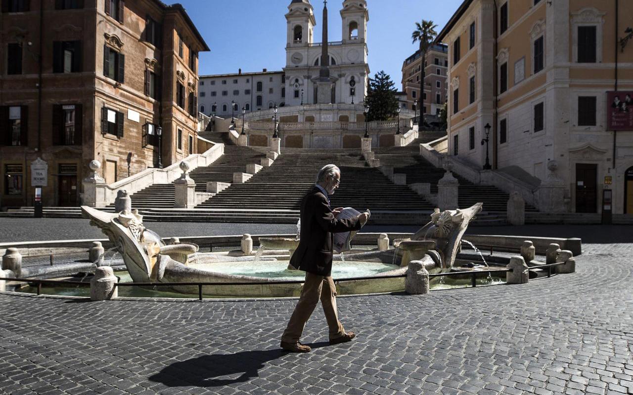 İtalya'da son 24 saatte bin 534 yeni vaka tespit edildi
