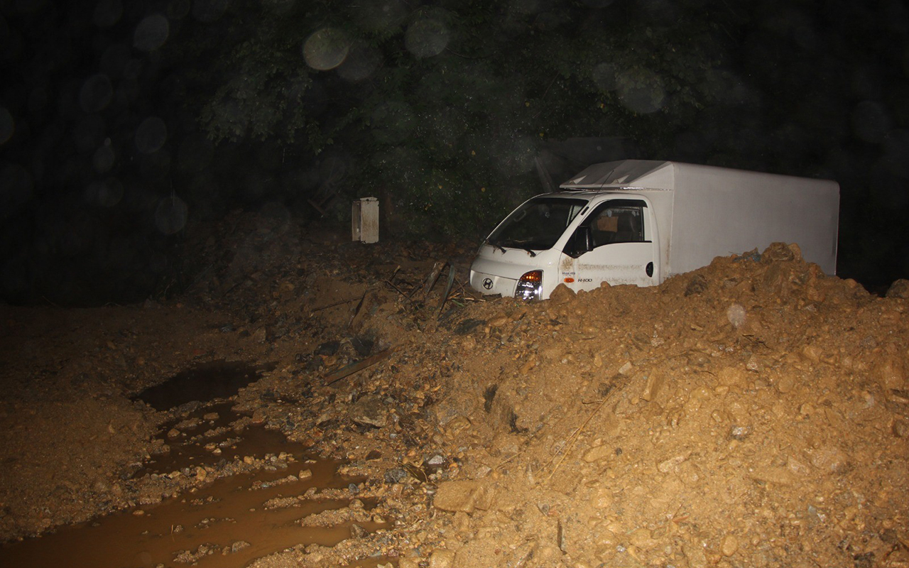 Rize'de sel felaketi: 5 can kaybı
