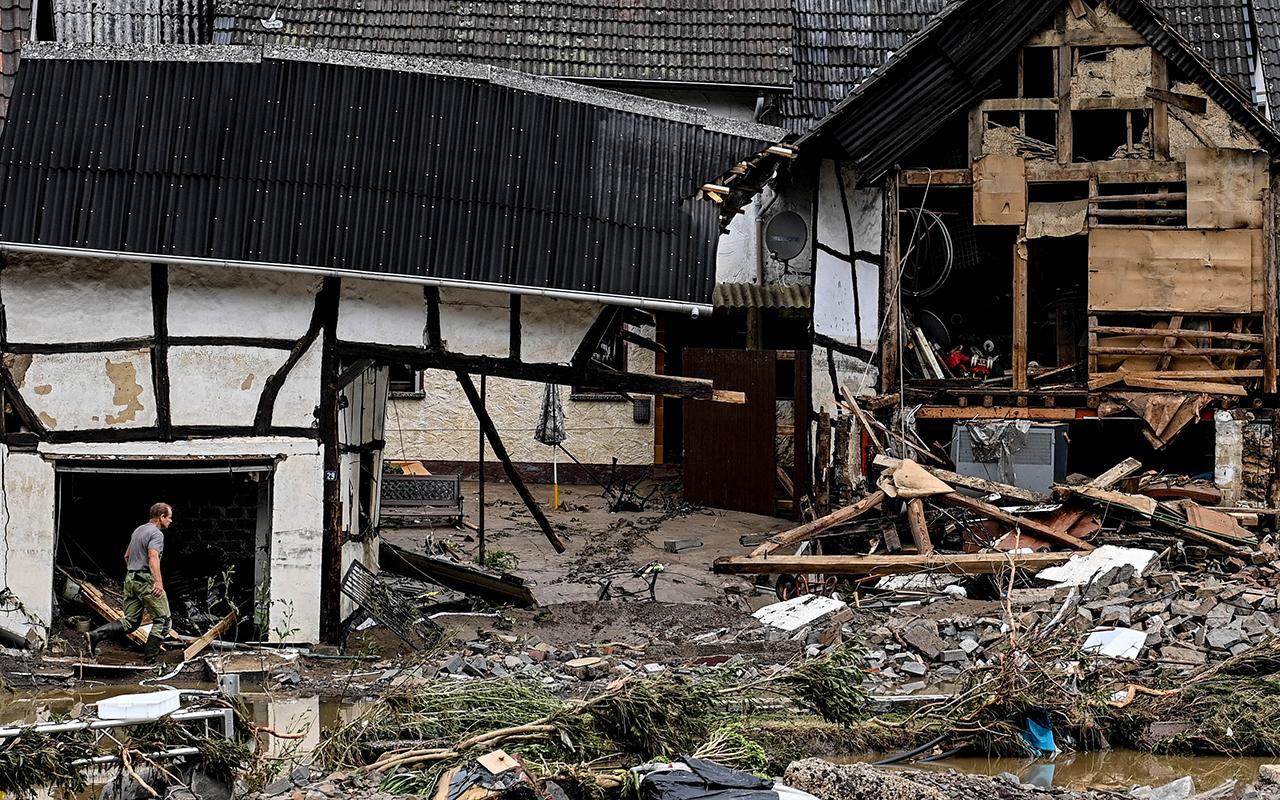 Almanya'da sel felaketinde can kaybı sayısı 81'e yükseldi
