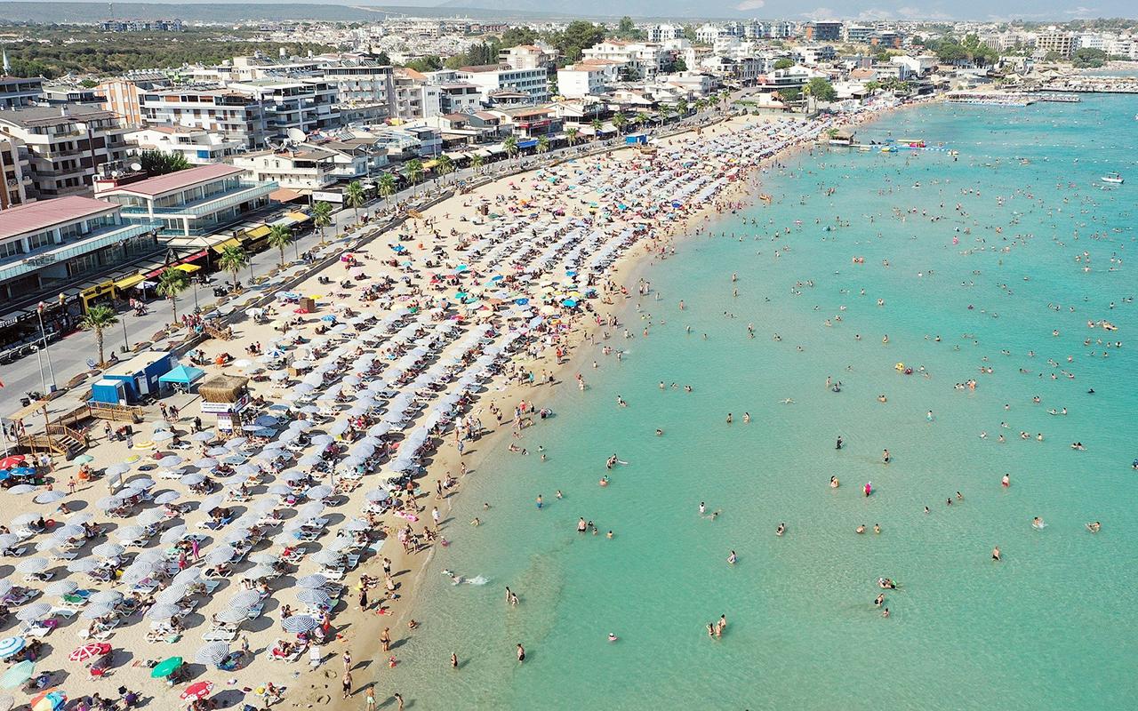 Deniz turizminin kalbi Didim'de bayram tatili yoğunluğu