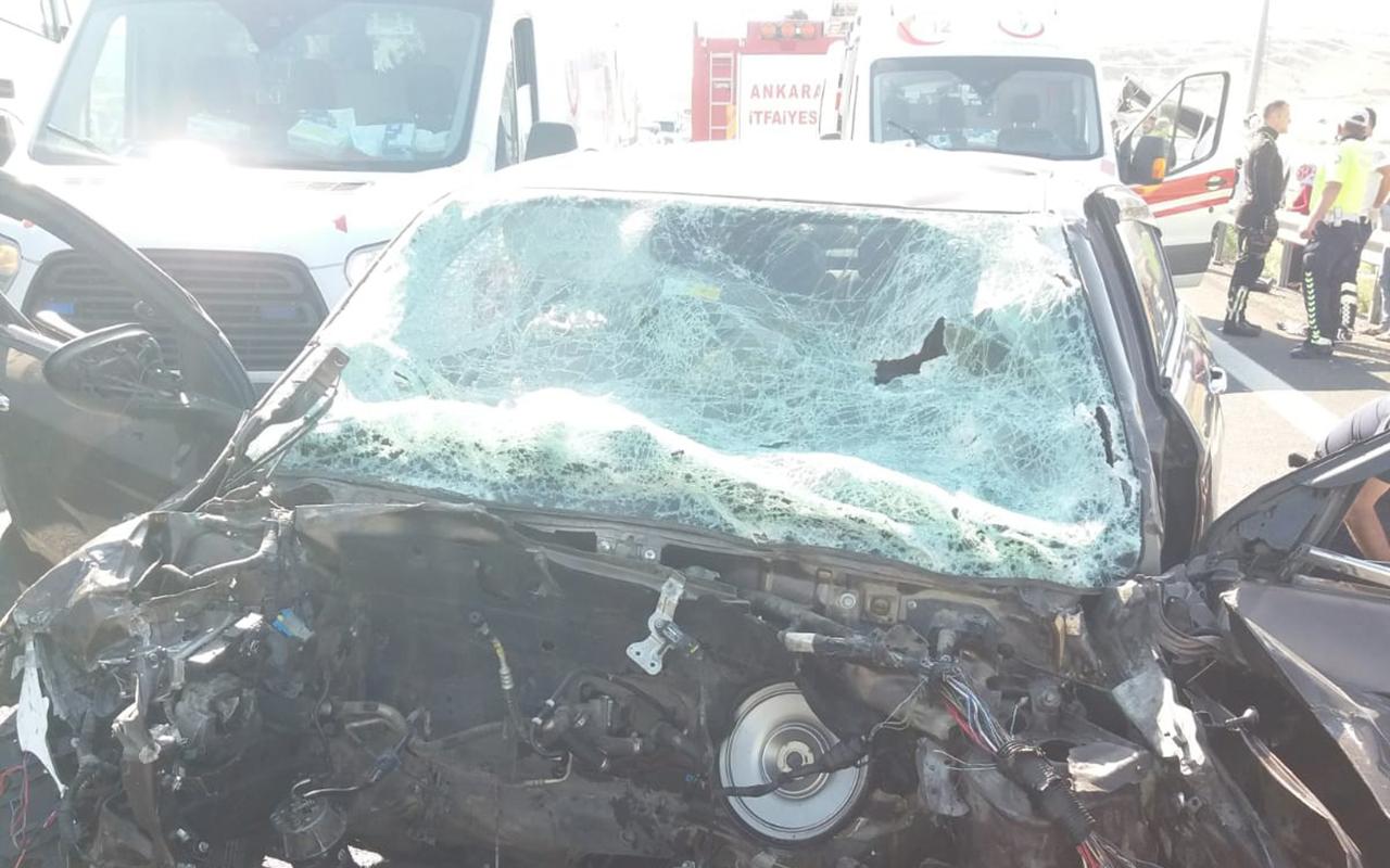 Başkentte bayram öncesi feci kaza: 17 yaralı