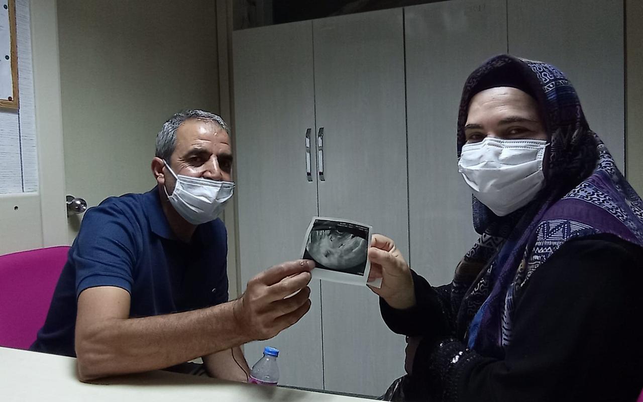 14 yıllık çocuk hasreti Diyarbakır'da son bulan Kahramanmaraşlı çift, çifte bayram yaşadı