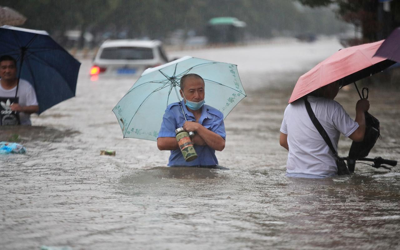 Çin'de sel felaketi: 12 can kaybı