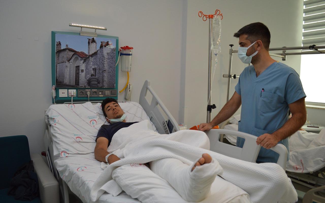 Muğla'daki yangınlarda yaralanan iki kişinin tedavisi sürüyor