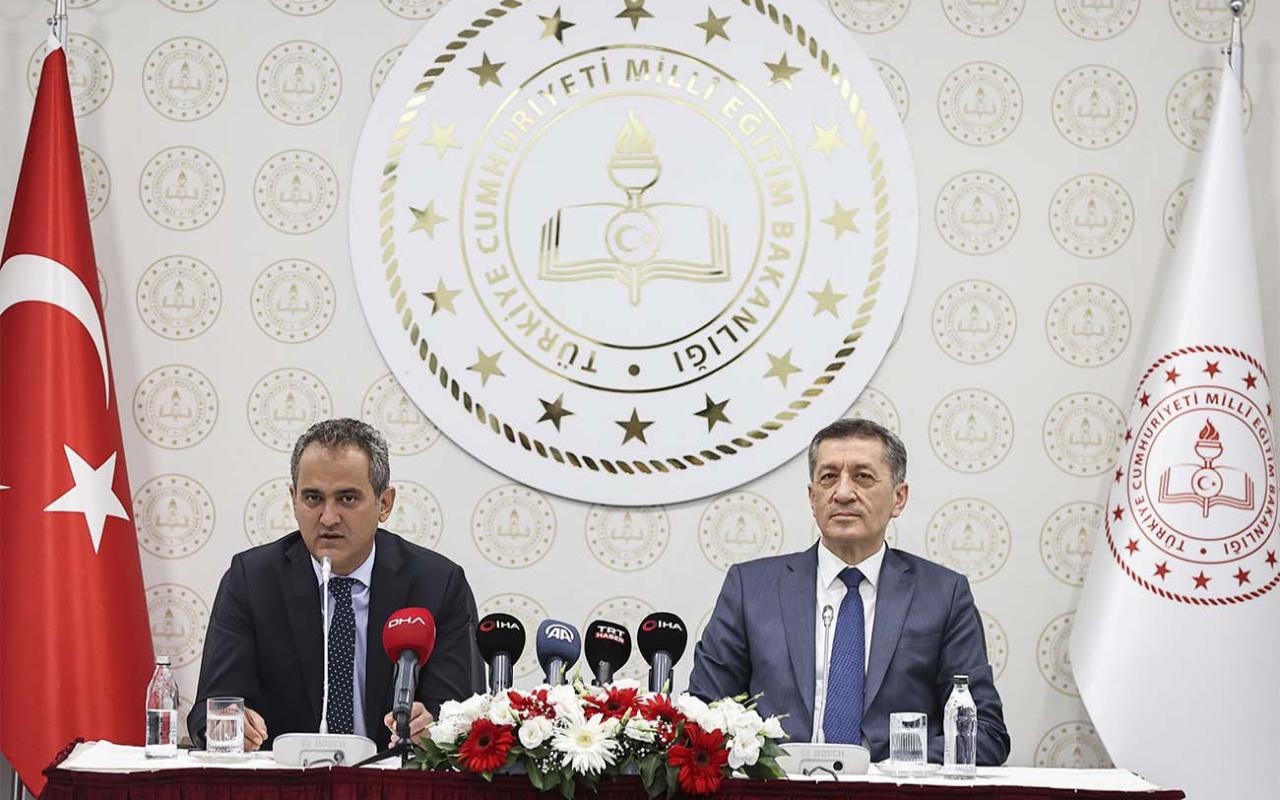 Yeni Milli Eğitim Bakanı Mahmut Özer'den yüz yüze eğitim açıklaması