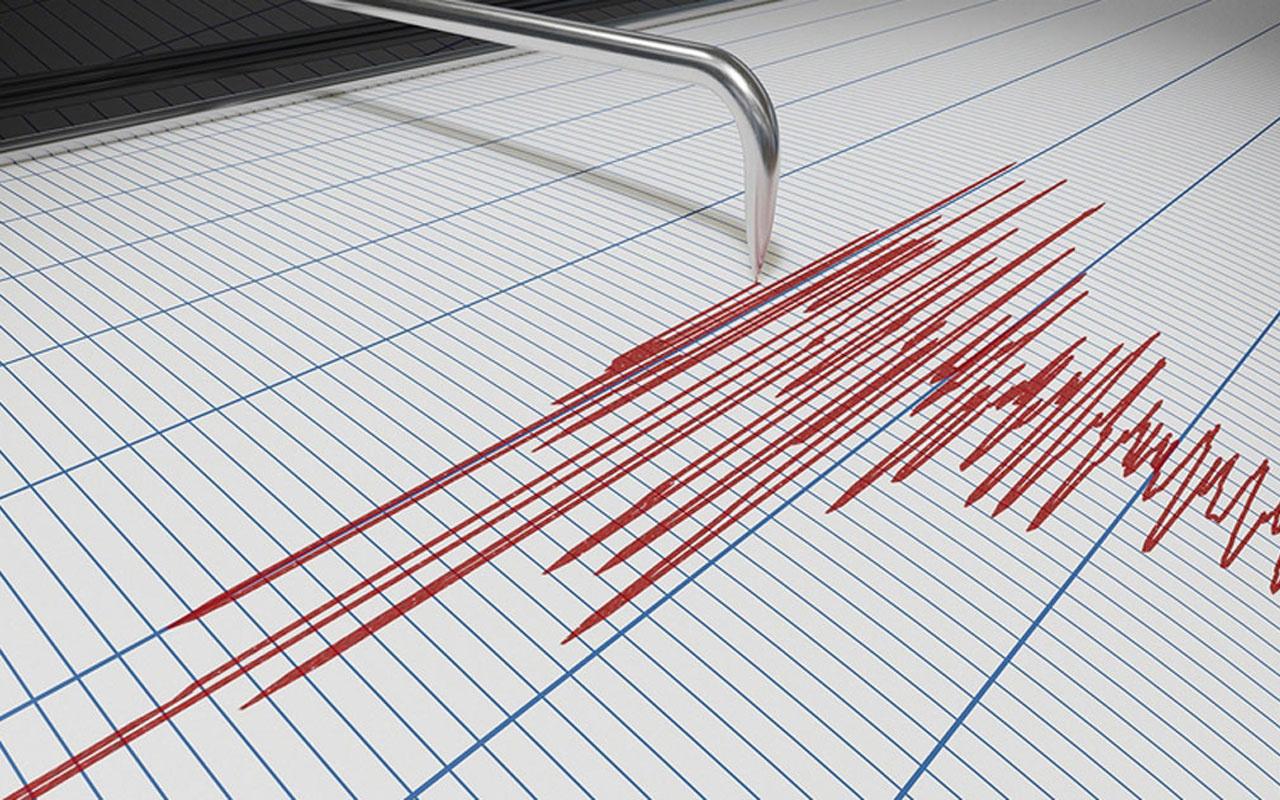 Datça açıklarında 4,4 büyüklüğünde deprem