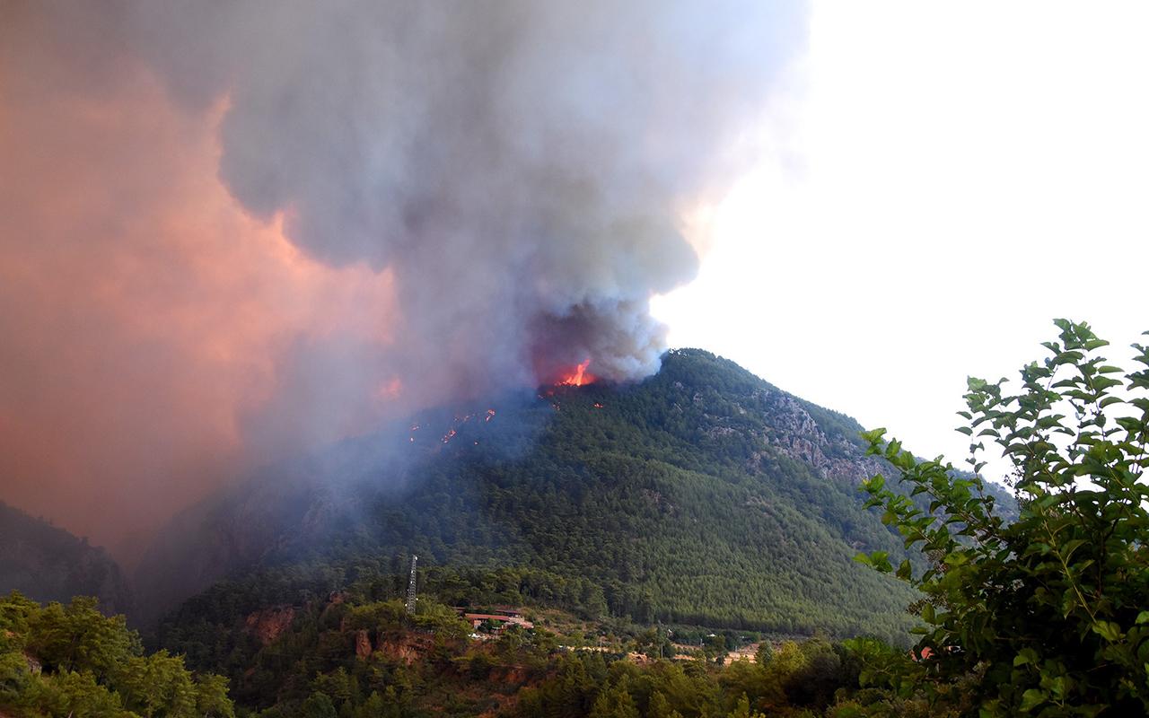 Yangın bölgelerindeki karbonmonoksit zehirlenmesine dikkat