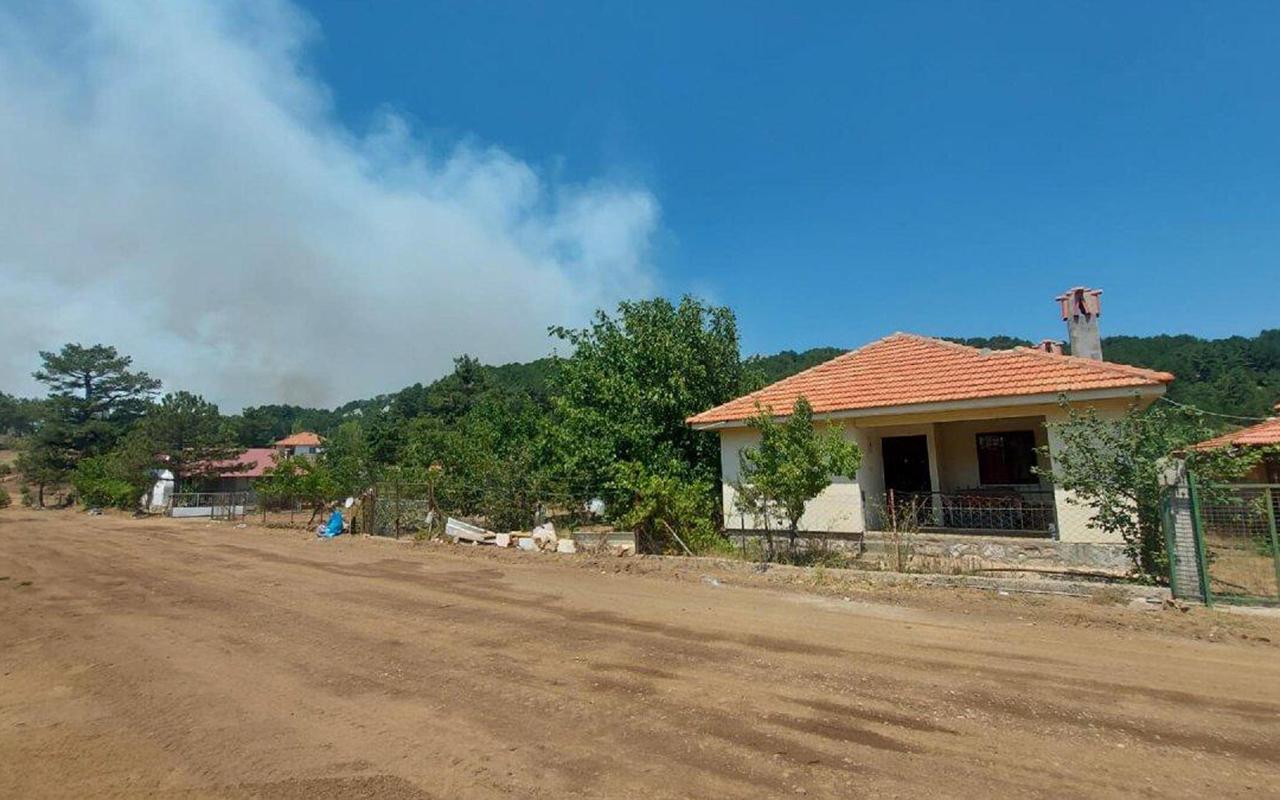 Köyceğiz'deki yangının 11'inci gününde, yayladaki evler tahliye edildi
