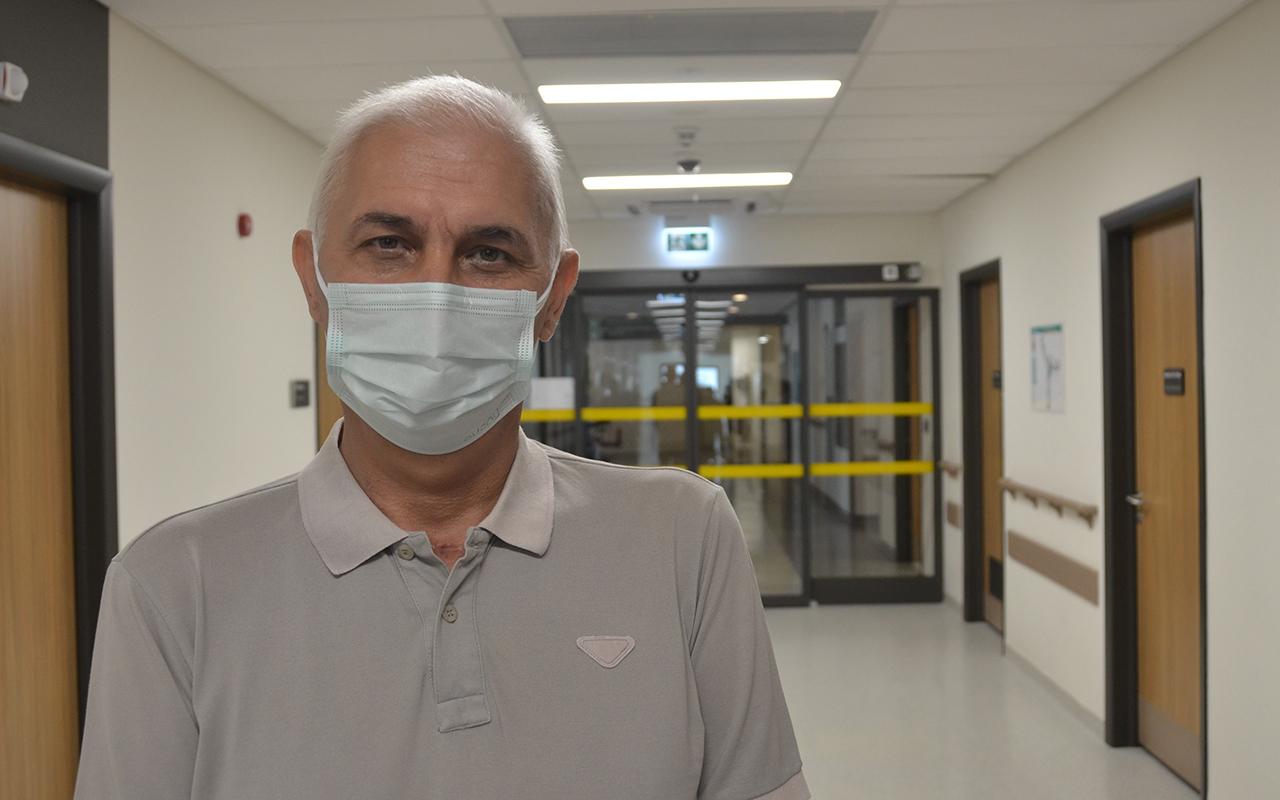 Covid-19 sebebiyle gelişen akciğer yetmezliğinden ECMO tedavisiyle kurtuldu
