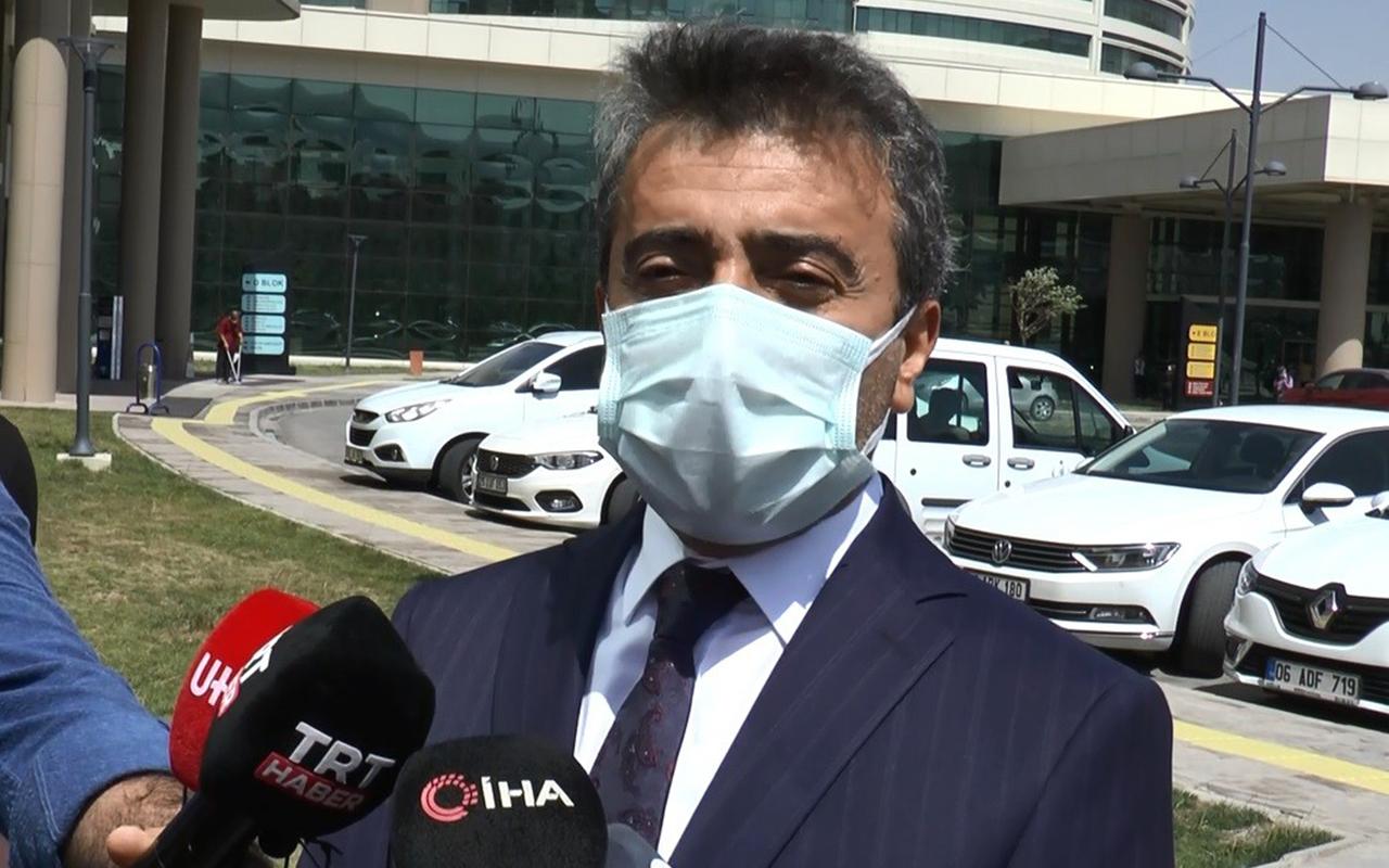 Sağlık Müdürü açıkladı: Son 4 ayda 2 doz aşısını olan kimse hastaneye yatmadı
